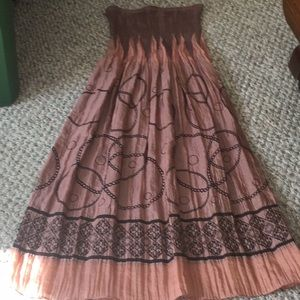 NWOT Lapis strapless dress Onesize